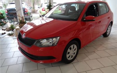 Skoda Fabia 1.0l MPI Active Plus Green tec