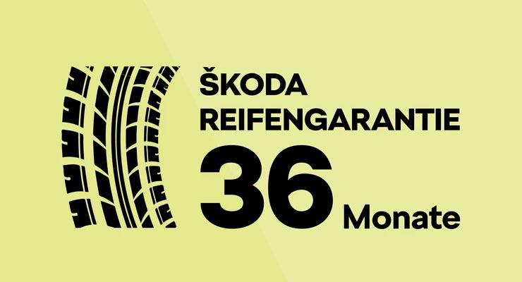 ŠKODA Reifengarantie 36 Monate